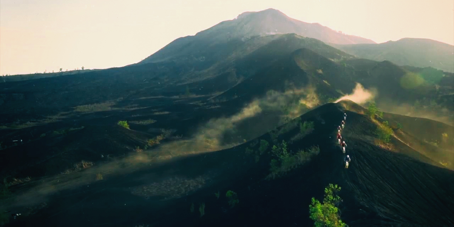Ride up a Balinese Volcano
