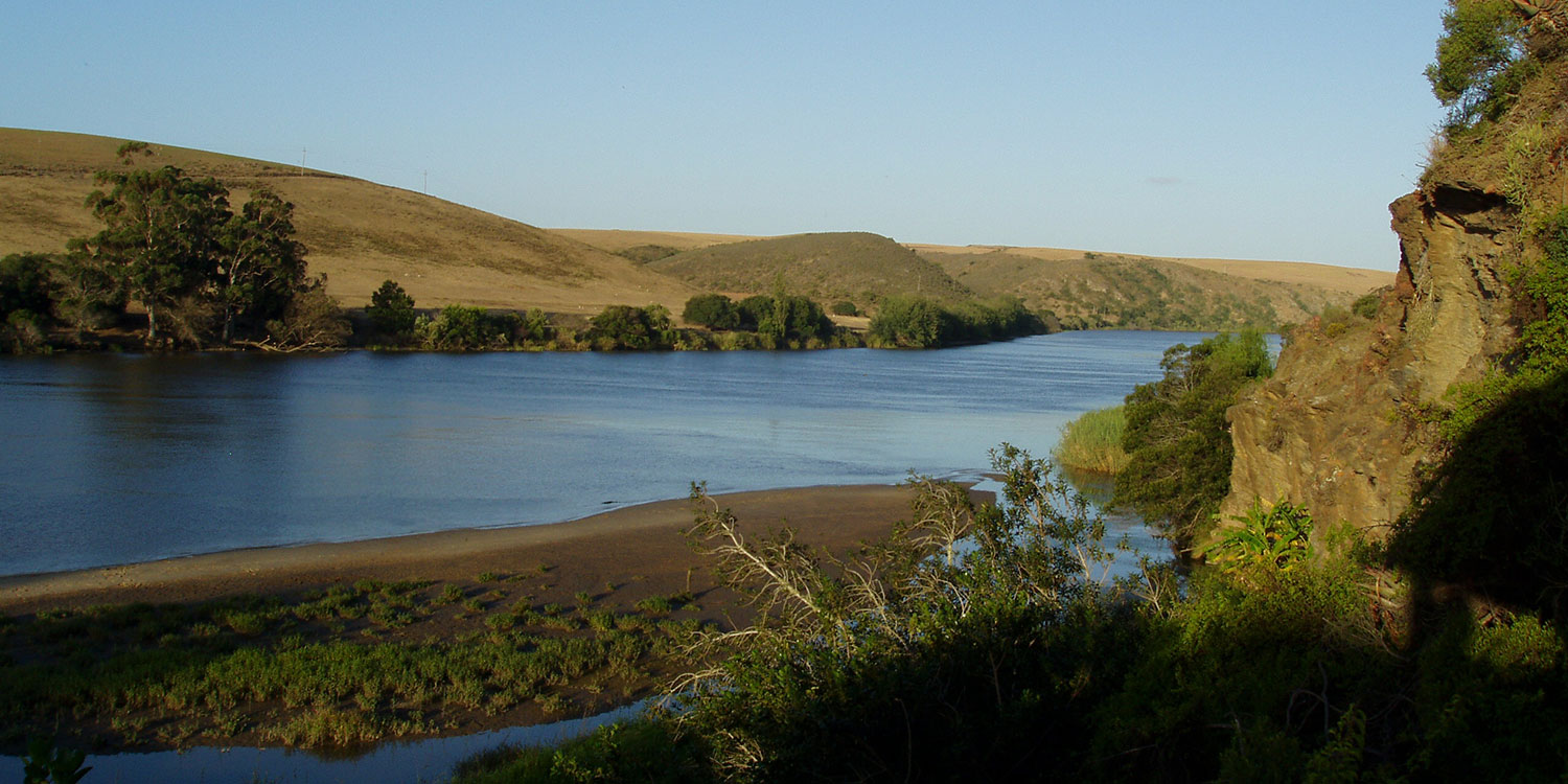 Go rafting on the Breede river