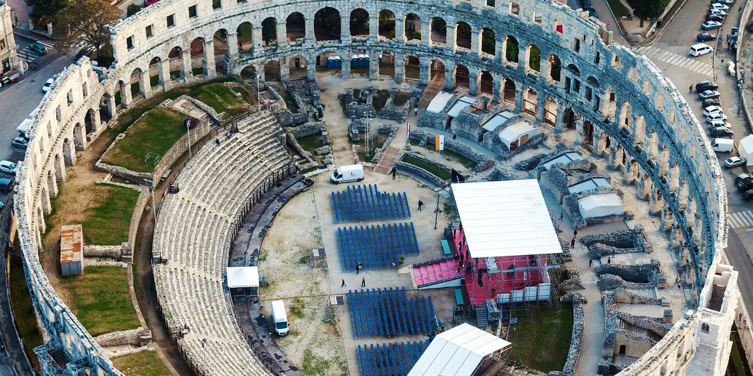 Pula: Travel 2000 Years Back In Time