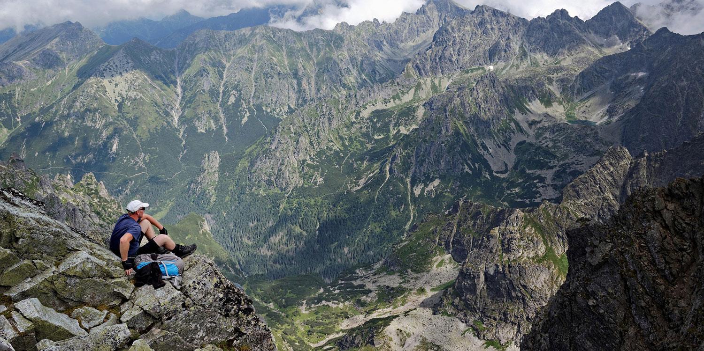 Hike across the Tatras Mountains