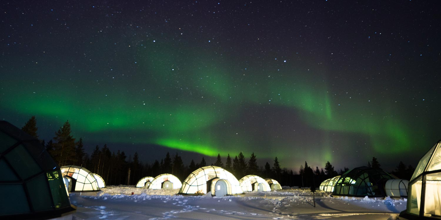 The Land Of Northern Lights