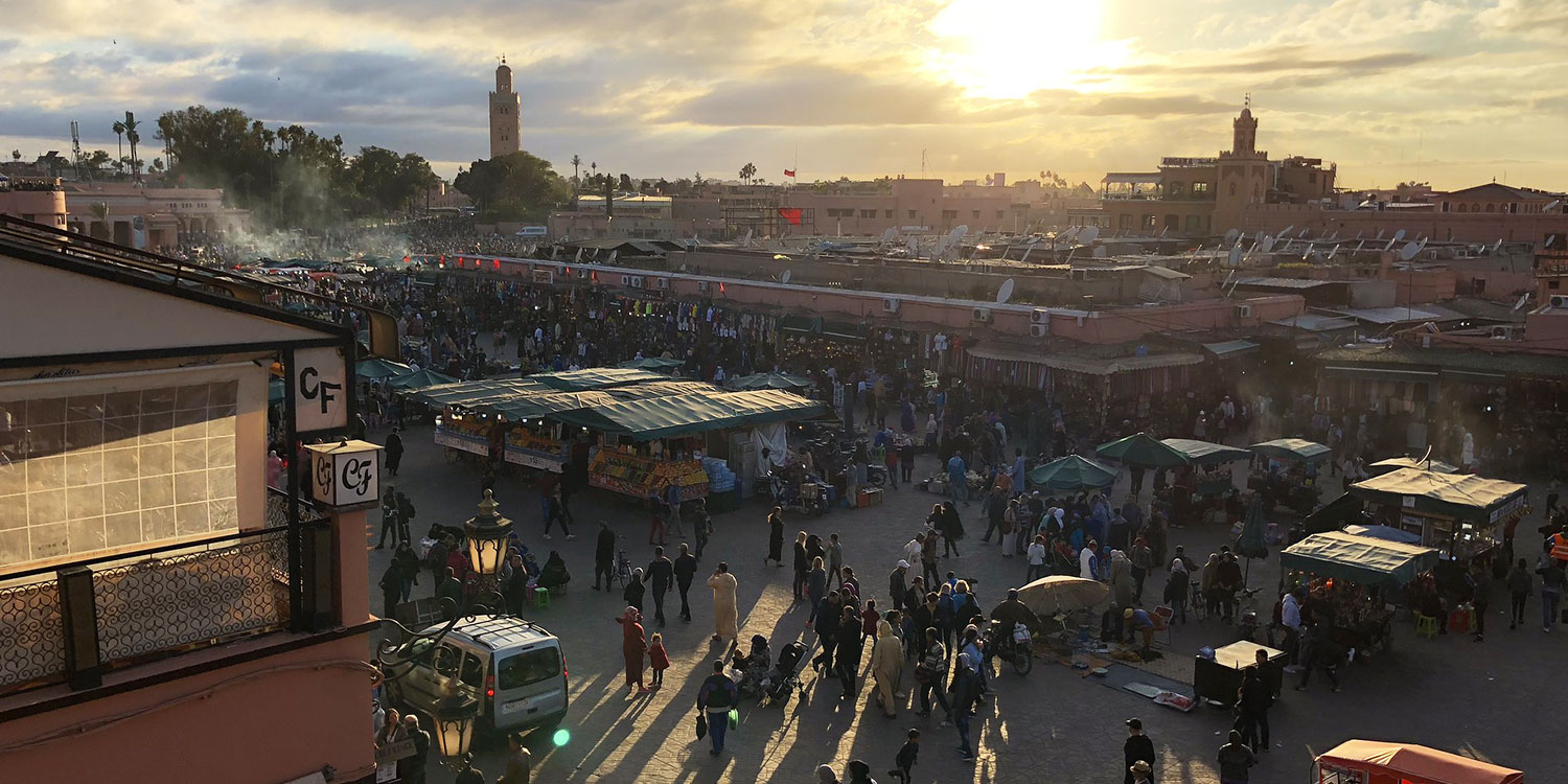 Visit Marrakech, the imperial city
