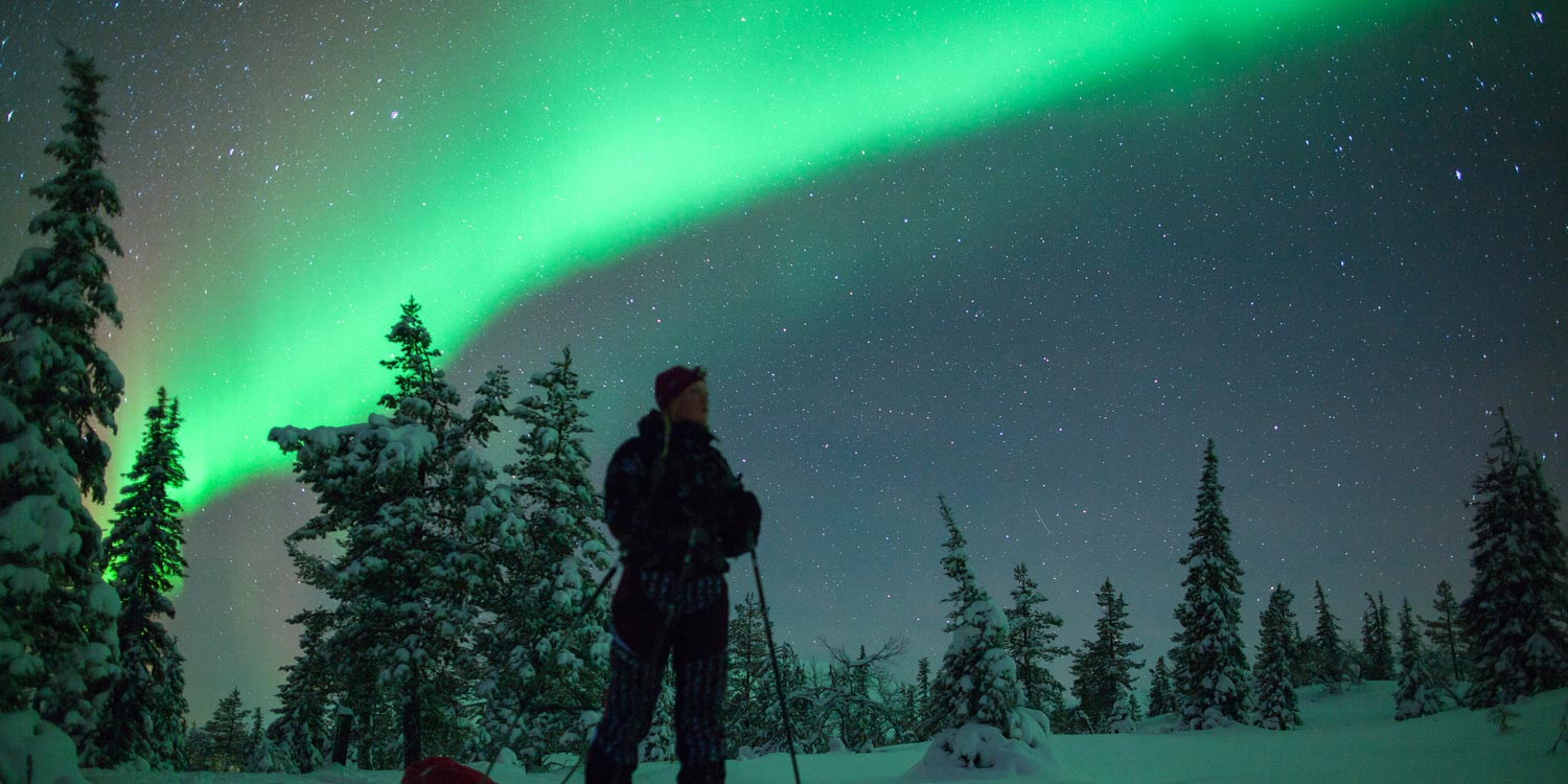 The only word for the Northern Lights is 'epic'