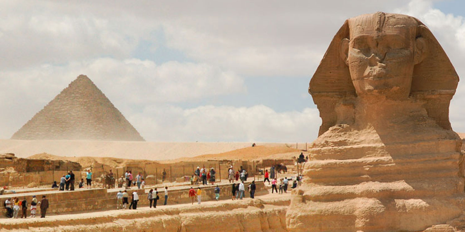 Nothing screams 'awe' like staring at the Sphinx