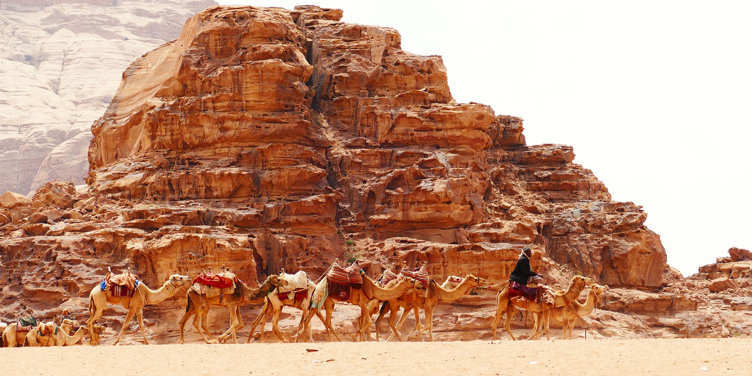 Wadi Rum: Where Martians and Bedouins roam
