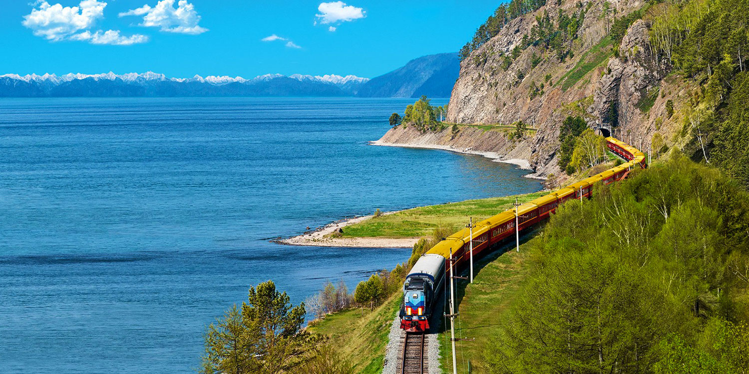 On board the Trans-Siberian Express!