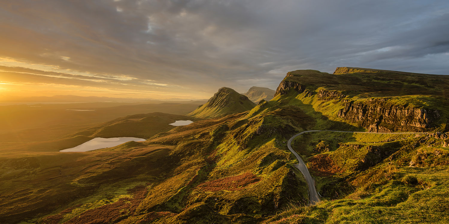 The Scottish highlands: a realm of lochs, castles and monsters