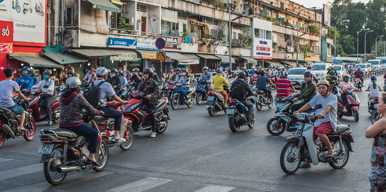 Saigon: hot, noisy, and exhilarating