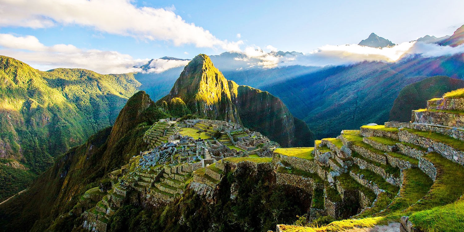 Machu Picchu: the 5th wonder of the world!