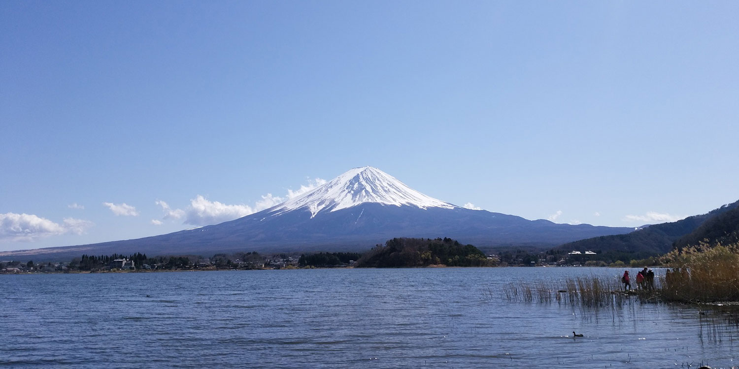 Lake Kawaguchi: an incredible view of Mt. Fuji
