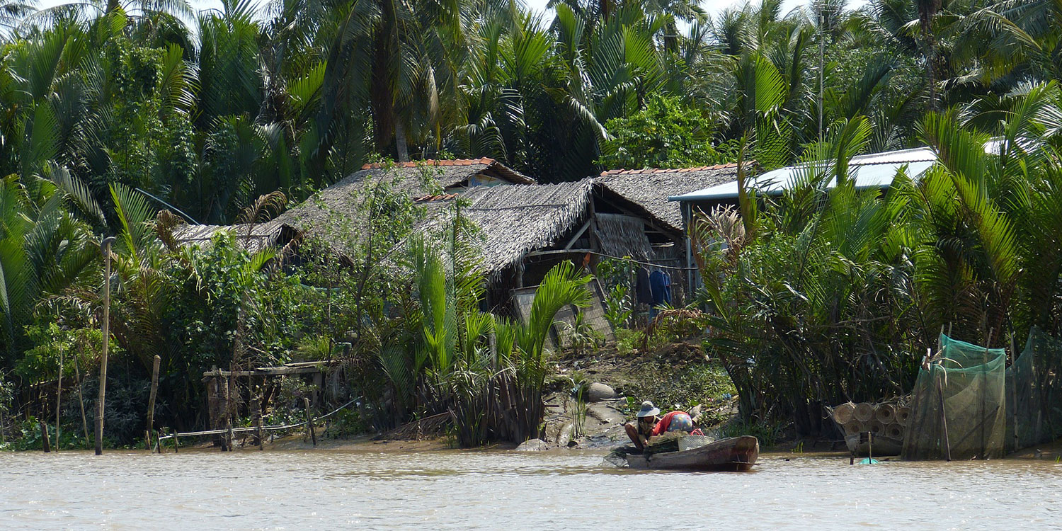 Cruise down the Mekong Delta