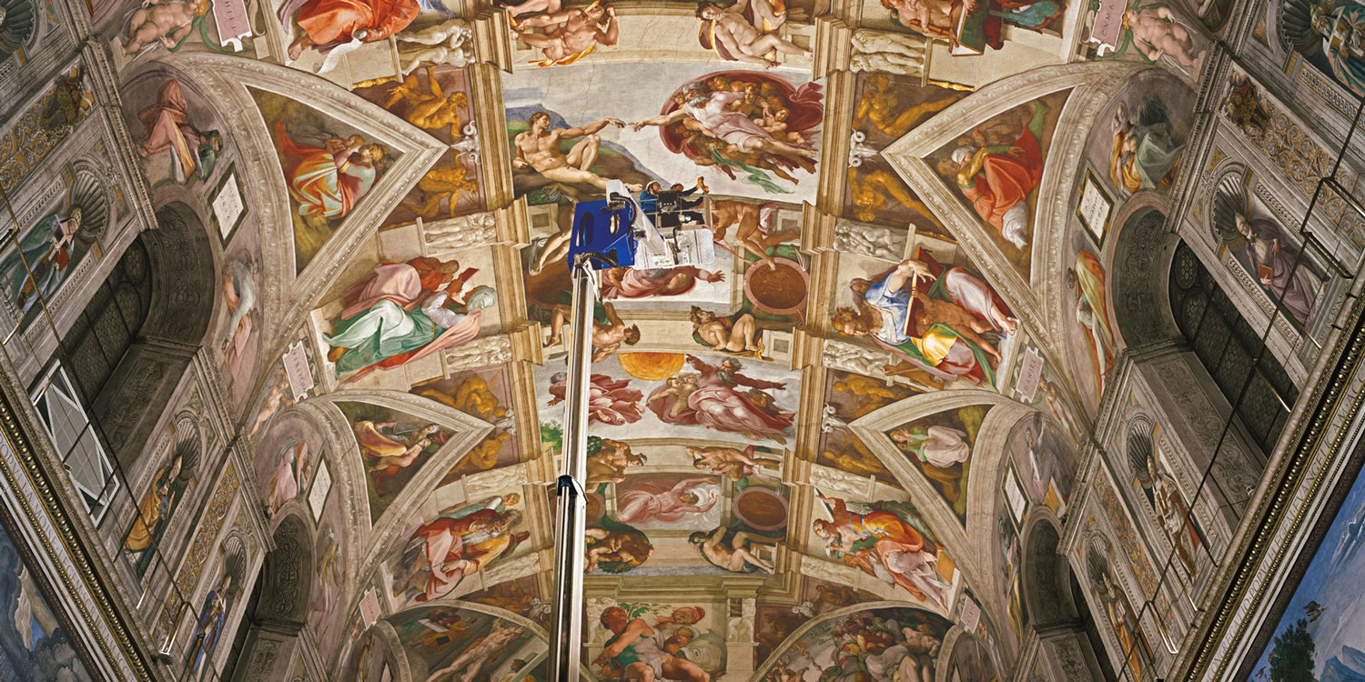 Marvel in awe at the Sistine Chapel