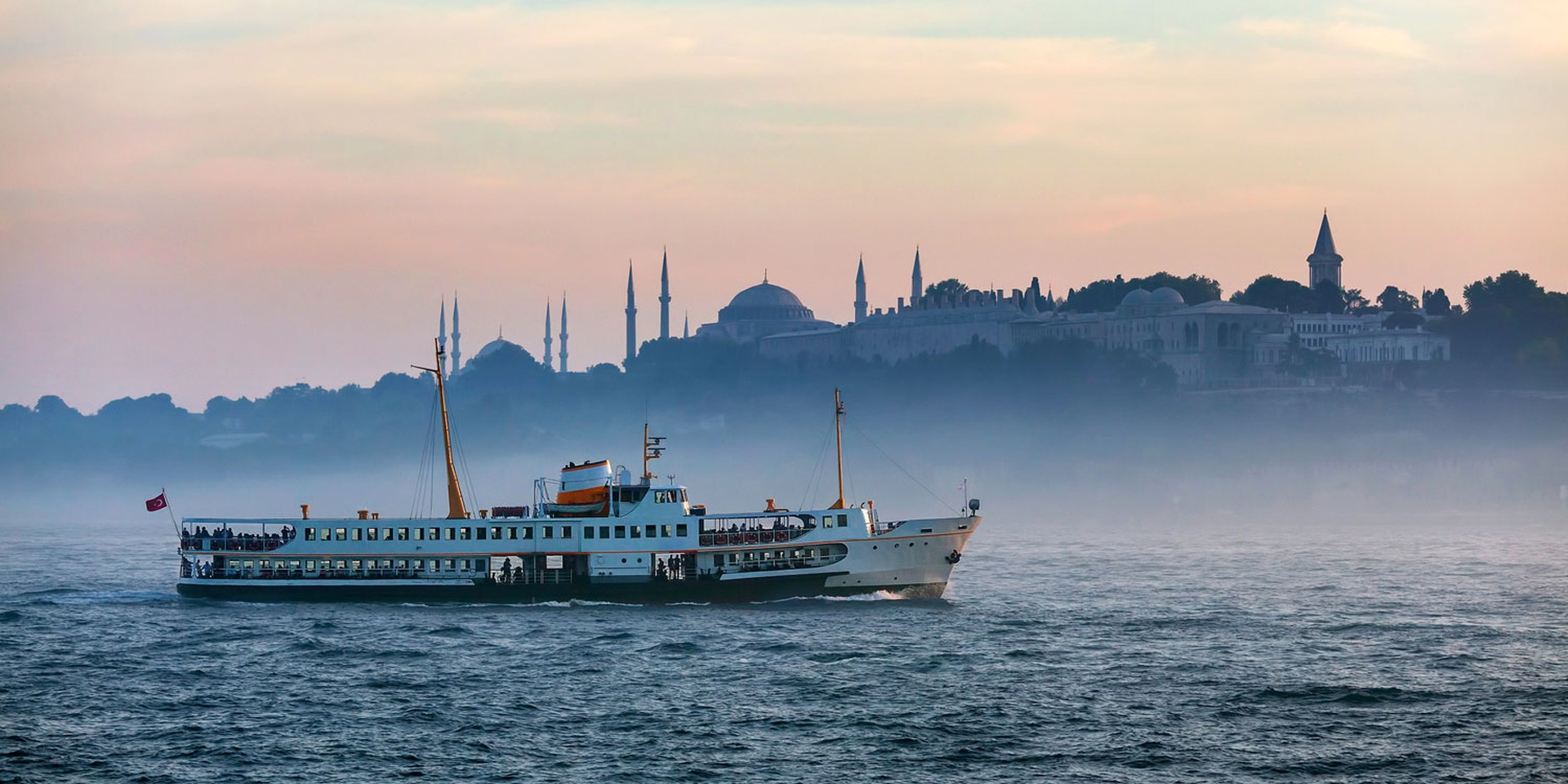 Good times and a great cruise: Bosphorus Strait