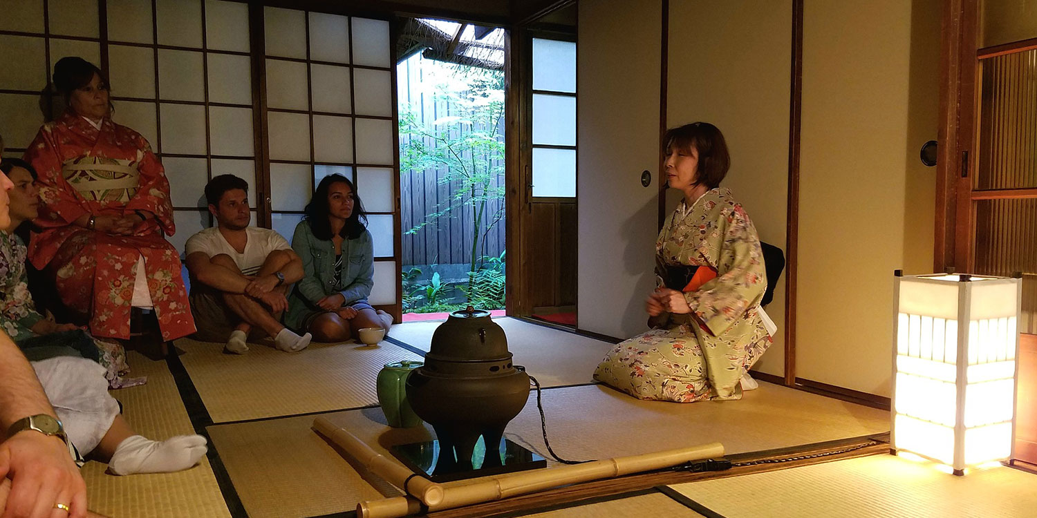Take part in an elegant tea ceremony