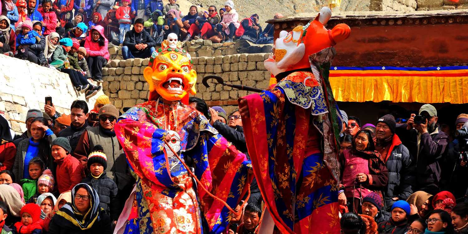 Attend the Hemis Festival