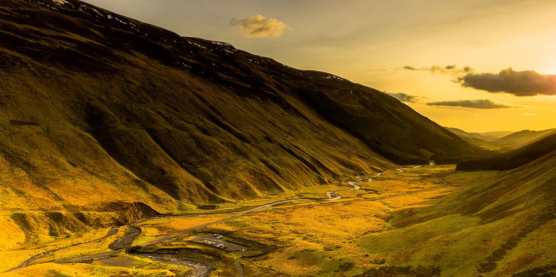 Through the heartlands of Scotland