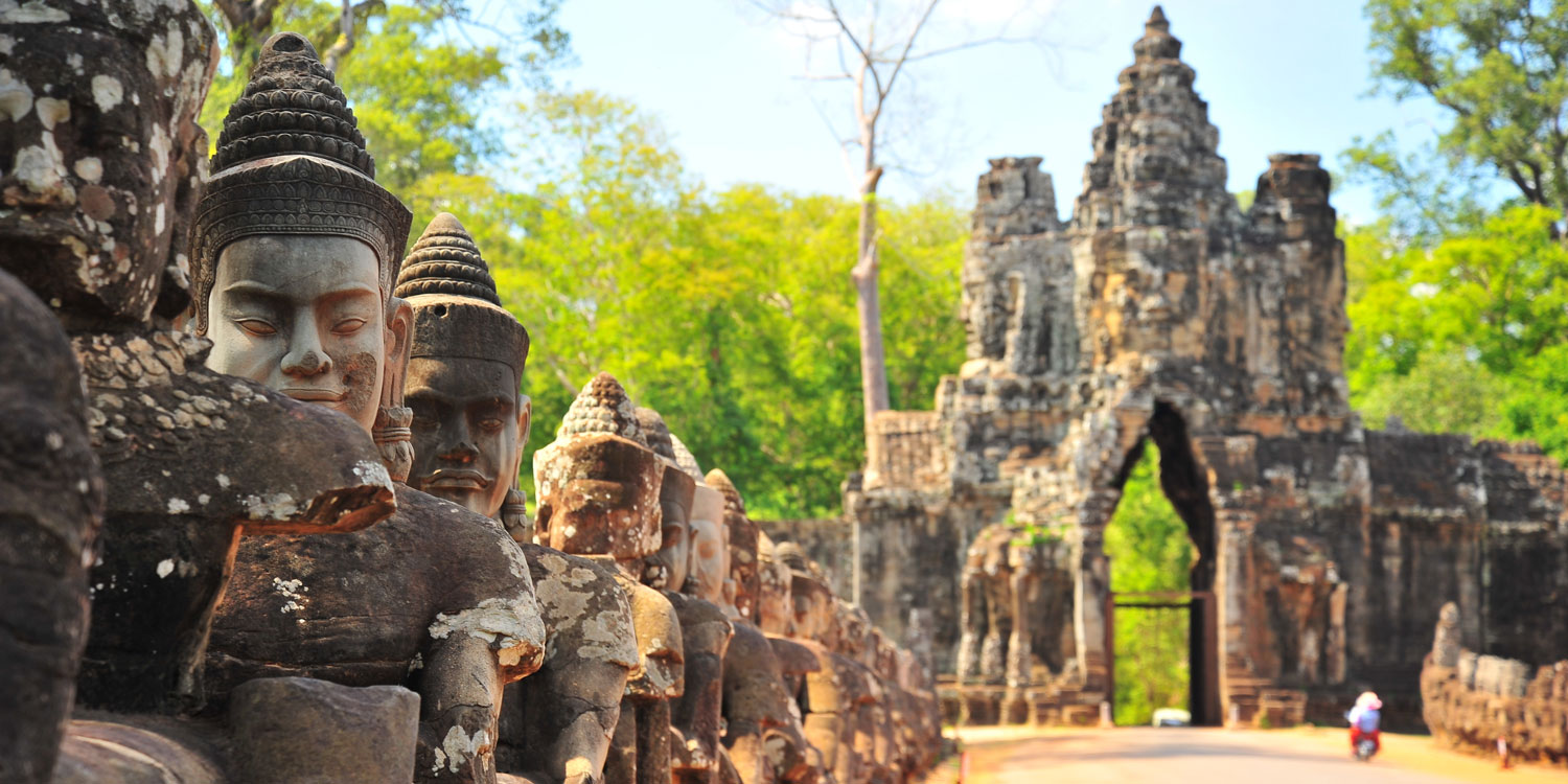 Indiana Jones adventures await you in Siem Reap