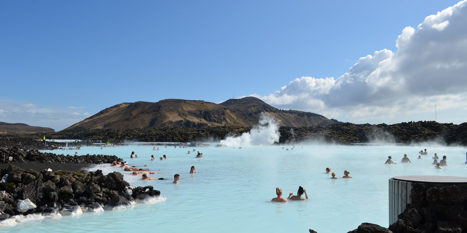 Relax in the Blue Lagoon