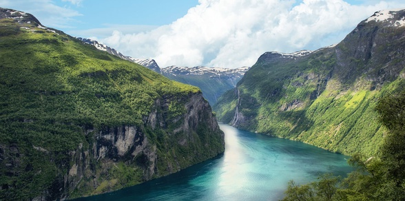 Norwegian Fjords Escape with Northern Lights