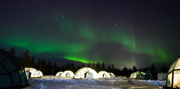 Capitals of Northern Lights