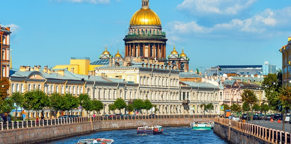 Two Capitals - Moscow and St Petersburg