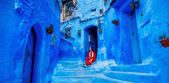 Imperial Morocco & The Blue City - 8 Days
