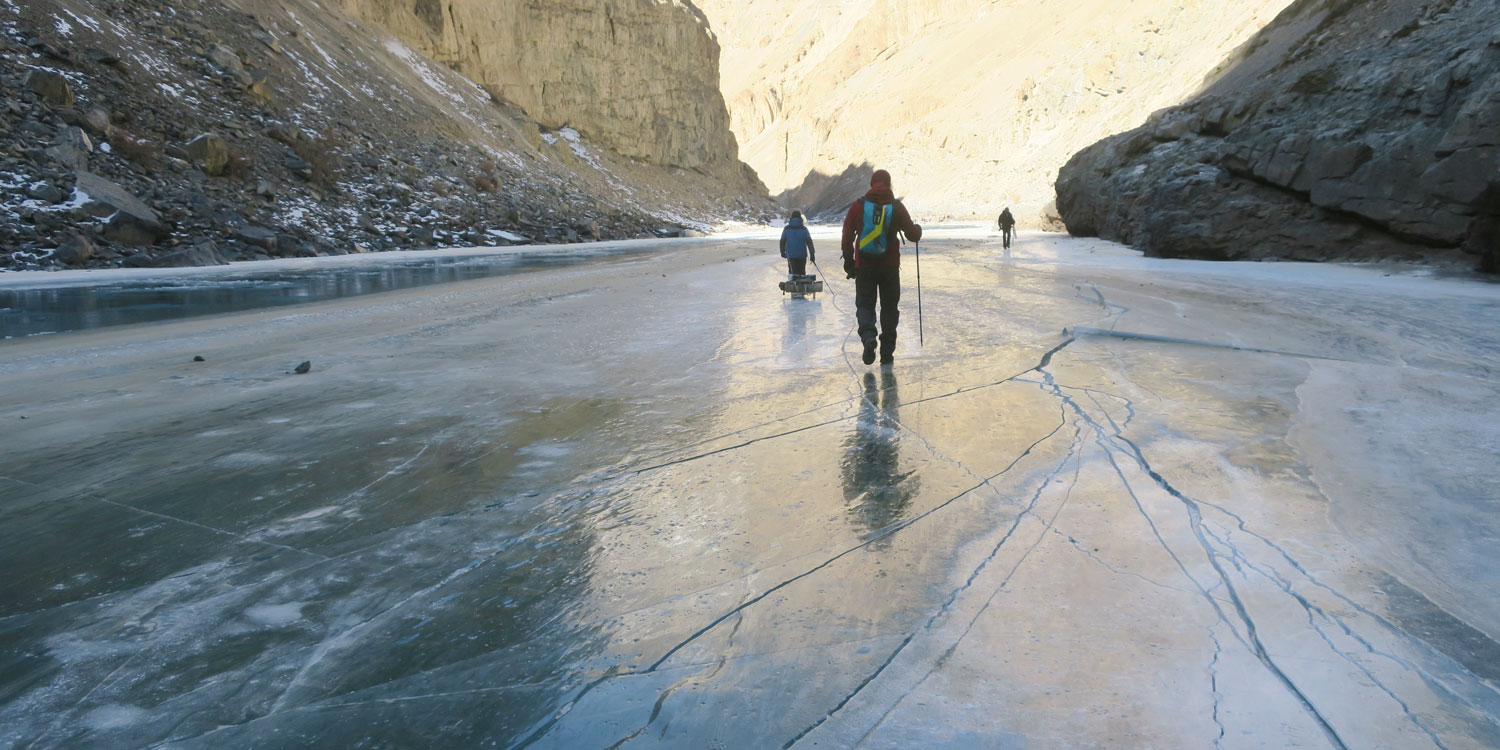 Walking On A Frozen River: An Experience Of A Lifetime