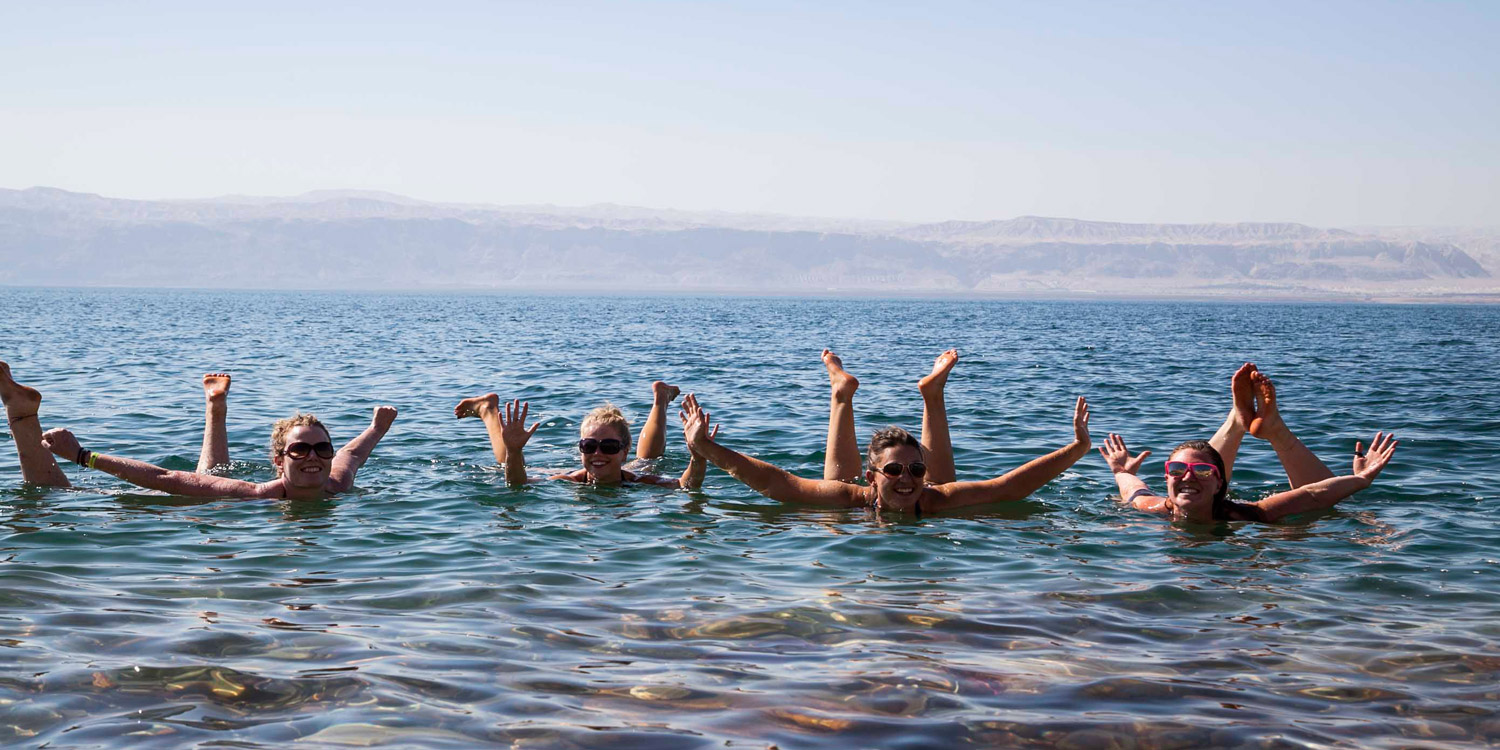 Float on the Dead Sea