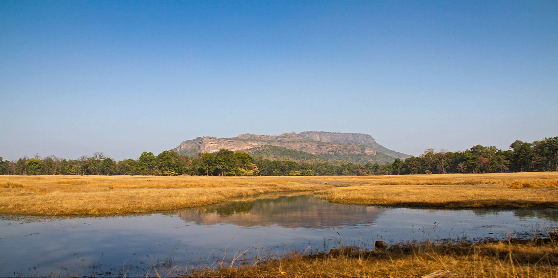 The Ruins Of Bandhavgarh Fort