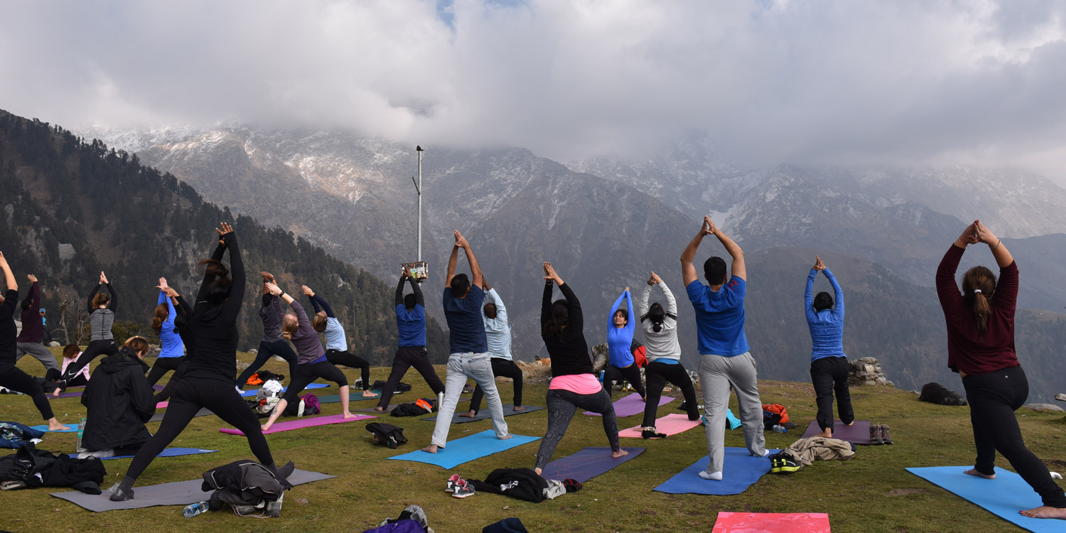 Wellness + A Himalayan View
