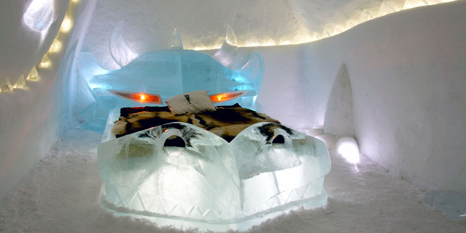 A night at the Ice Hotel is one you won't forget