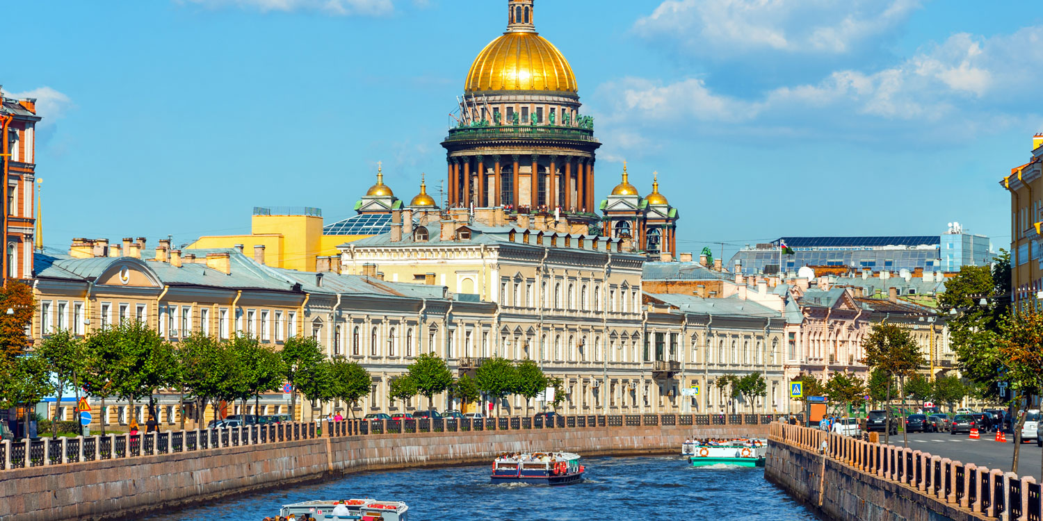 St.Petersburg's Timeless Canals