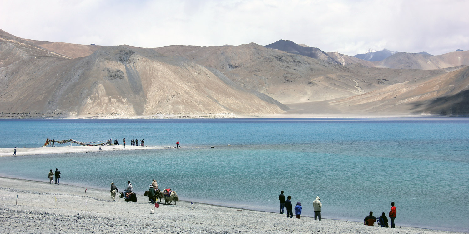 50 Shades of Blue : Pangong Tso
