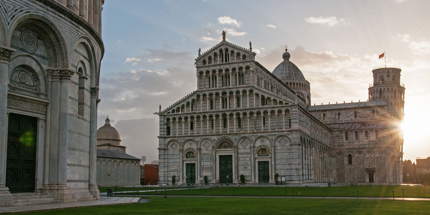 Visit the Leaning Tower of Pisa