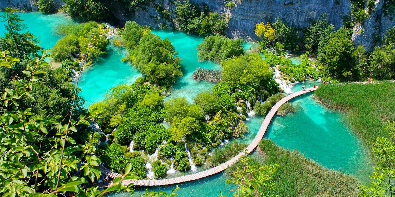 Aquatic utopia: Plitvice