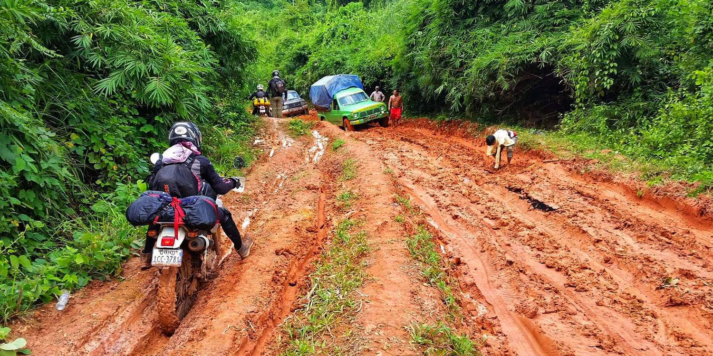 Cambodia Biking Trail