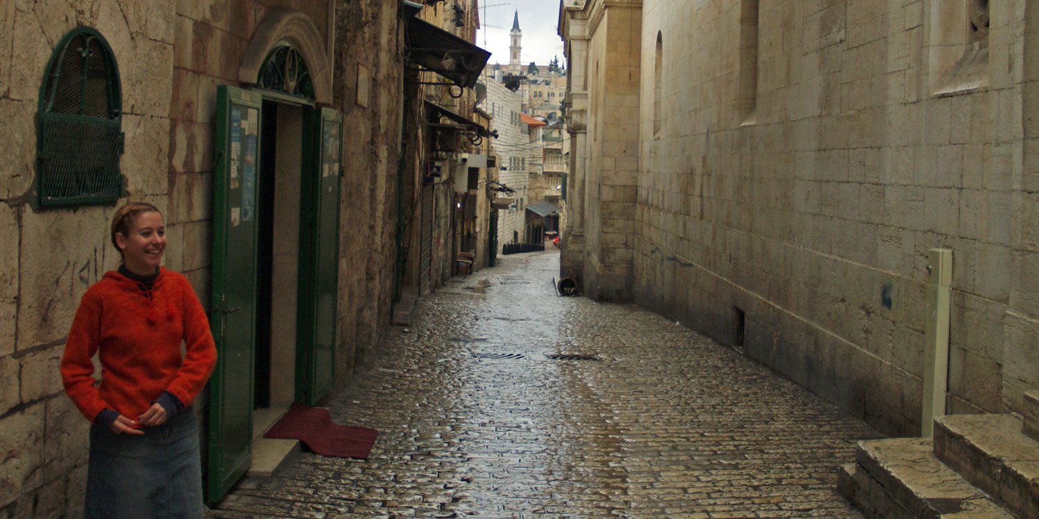 Travel back in time as you explore Jerusalem
