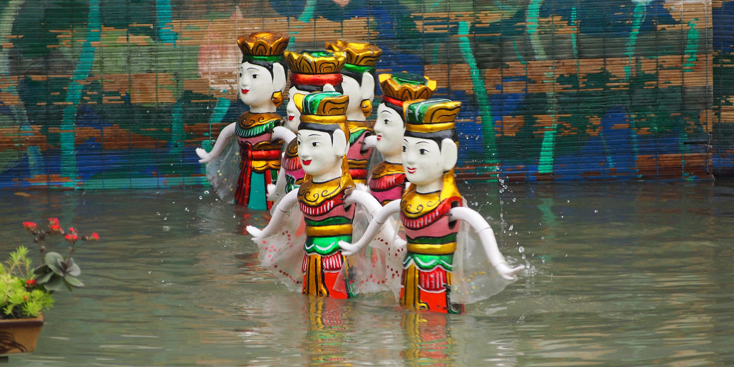 Hanoi's Famous Water Puppet Show
